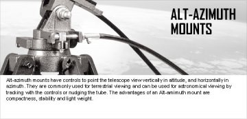 Alt-Azimuth Mounts